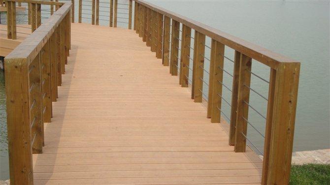 Wood Plastic Composite Outdoor Handrail