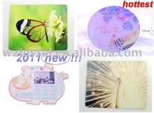 2011 new style factory customize eco mouse pad