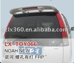 Fibre glass spoiler for Original Toyota NOAH NEW Series