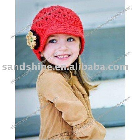 baby wool cap. Handmade wool cap HA-S018