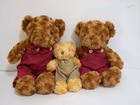 Plush toys lovely stuffed compatible bear family