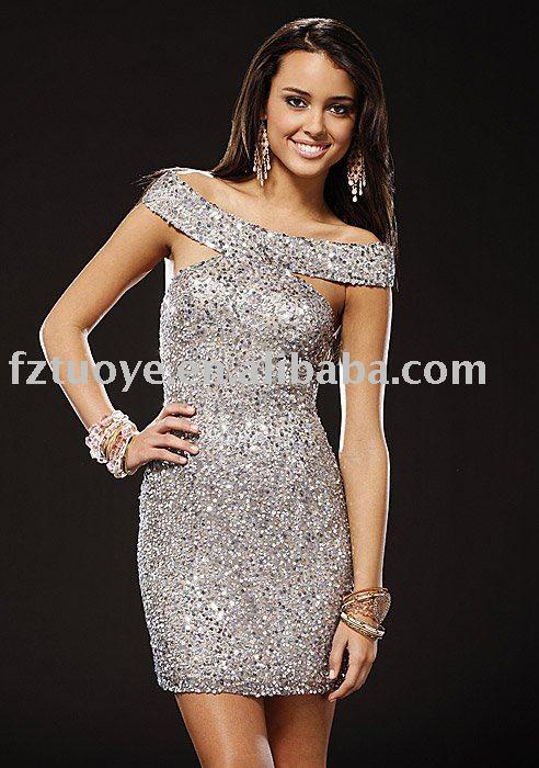 Glitter Cocktail Dresses