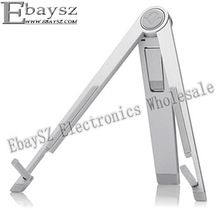 Fashion Silver Metal Folding Tripod Portable Laptop Stand For iPad #IP-156