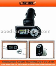 Bluetooth handsfree car kit, car fm transmitter, attach into sun-visor(CE/ROHS Approved)
