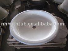 Round shower pan