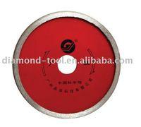 Diamond ceramic grooving blade (Continuous Rim Blade, sintered)