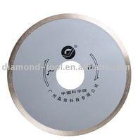 Diamond ceramic blade (Sintered, continuous rim)