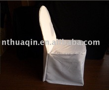 white polyester banquet chair cover for weddings