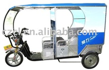 big size electric tricycle for passengers