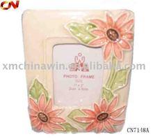 high quality ceramic frame with red flower (CNA7148A)