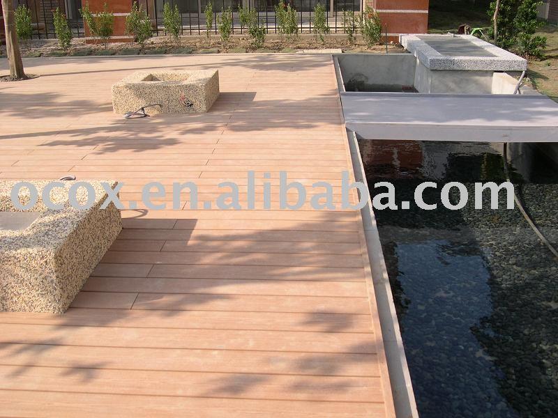 Composite Deck Plastic Composite Decking Material