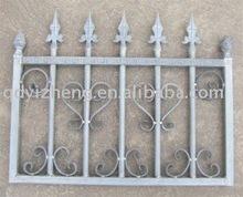 decorative metal garden fence