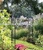 Garden arch wrought iron gate