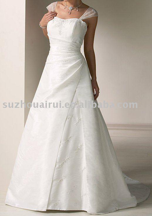 NB322 Cap Sleeve 2011 New Style Wedding Dress