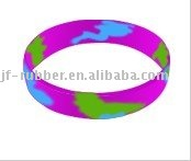 New Colorful 2012 Silicone Rubber Bands/Mixed Colors Silicone Wrist band JF-89