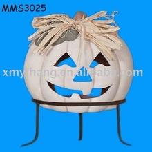terracotta pumpkin chiminea