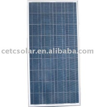 130W Poly high quality Photovoltaic panels (6 inches cell)