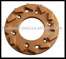 diamond single row grinding wheel segment welding