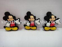 Plástico mickey mouse