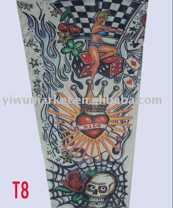 Letter Chicano Style Tattoo by muscle cars tattoo models full sleeve tattoo