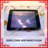 8 inch Cortex A8 Android 2.2 MID tablet pc 512MB RAM 4GB Freeshipping! Christmas promotions!