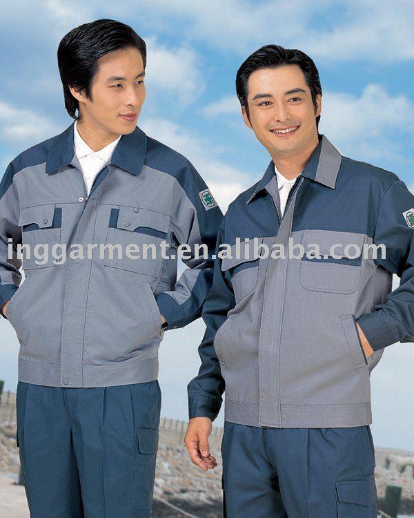Usine uniforme de travail ensembles / veste et pantalons