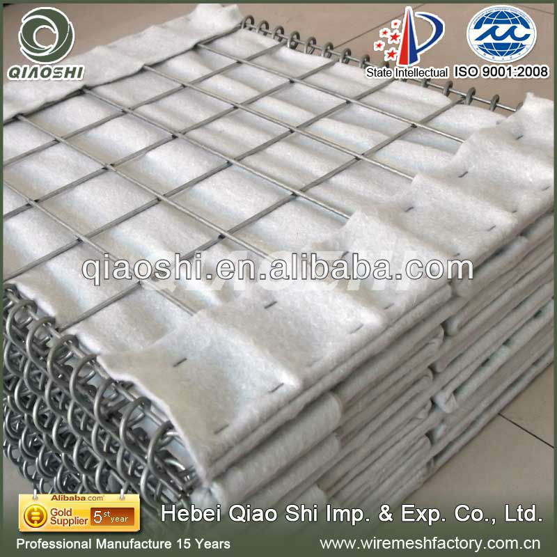Hesco for blast wall