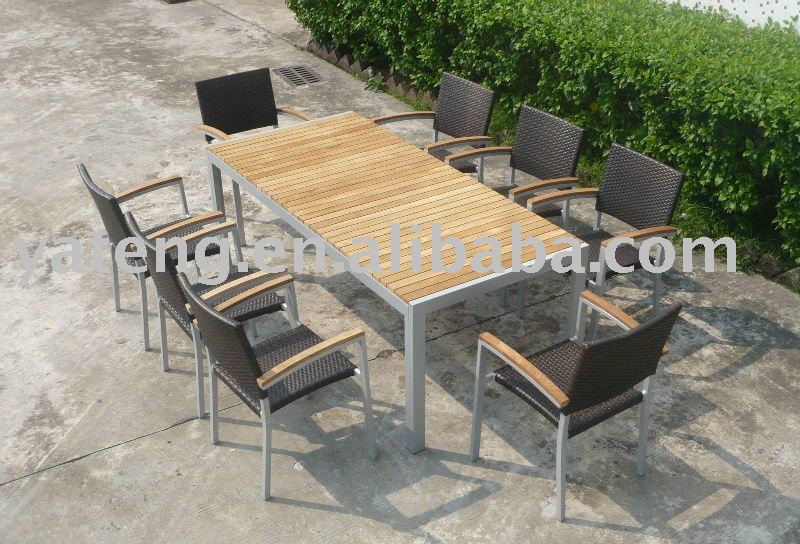 Modern Wicker Dining Chairs and Mesh Patio Chairs