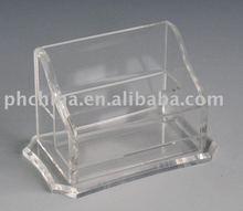 JNC-164 Mini Clear Namecard Stand/ Clear Plexiglass Card Stand