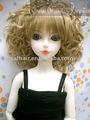 sintético peluca de la muñeca