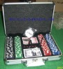 Acrylic Poker Chip Tray w/Card Space