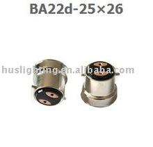 B22 lamp cap BA22d-25x26
