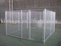 Heavy duty metal dog run kennel
