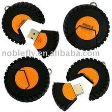 superior quality tire usb flash drive