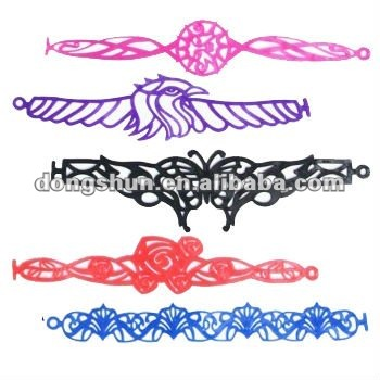 You might also be interested in Tattoo Bracelet, leather bracelet,