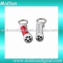 flashlight keychain,sound keychain,keychain clock for promotion and gift