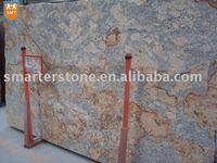 Pink Granite Slab-Golden Crema