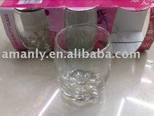3pcs Whiskey glass