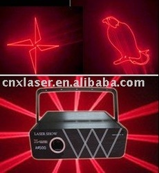 500MW single red animation laser light