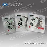 Herbal incense packaging bag