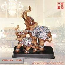 Elephant Art Statue Resin Handicraft