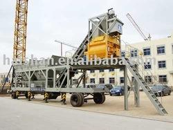HAISHAN BRAND trailer concrete plant