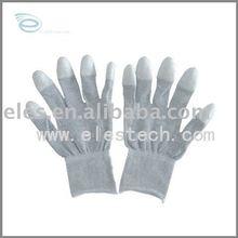 ESD carbon fibre gloves, Anti-static carbon fibre gloves , PU coating carbon fibre gloves