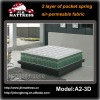 Double Pocket Coil Mattress/3D mesh mattress/3D Double Pocket Coil Mattress