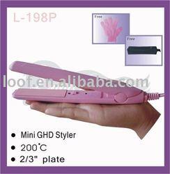 """Mini Silk 2/3"""" inch Flat Iron"""
