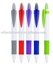 leaf shape clip ballpoint pen