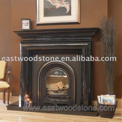 Pure Black Granite Fireplace Mantel View Pure Black Granite Fireplace Eastwood Product Details