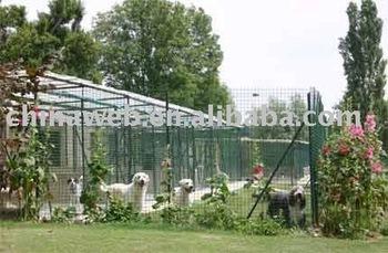 Dog kennel fencing