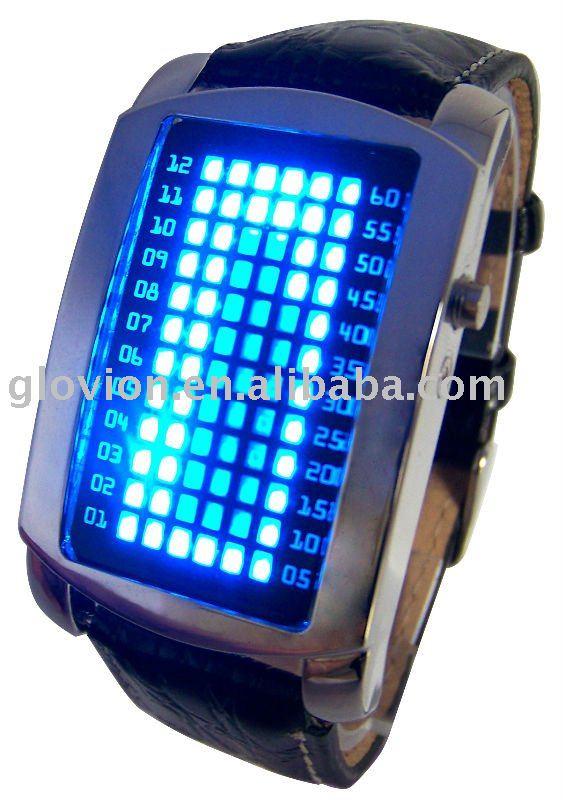 Часы blue led бинарные опционы электронная валюта биткоин отзывы