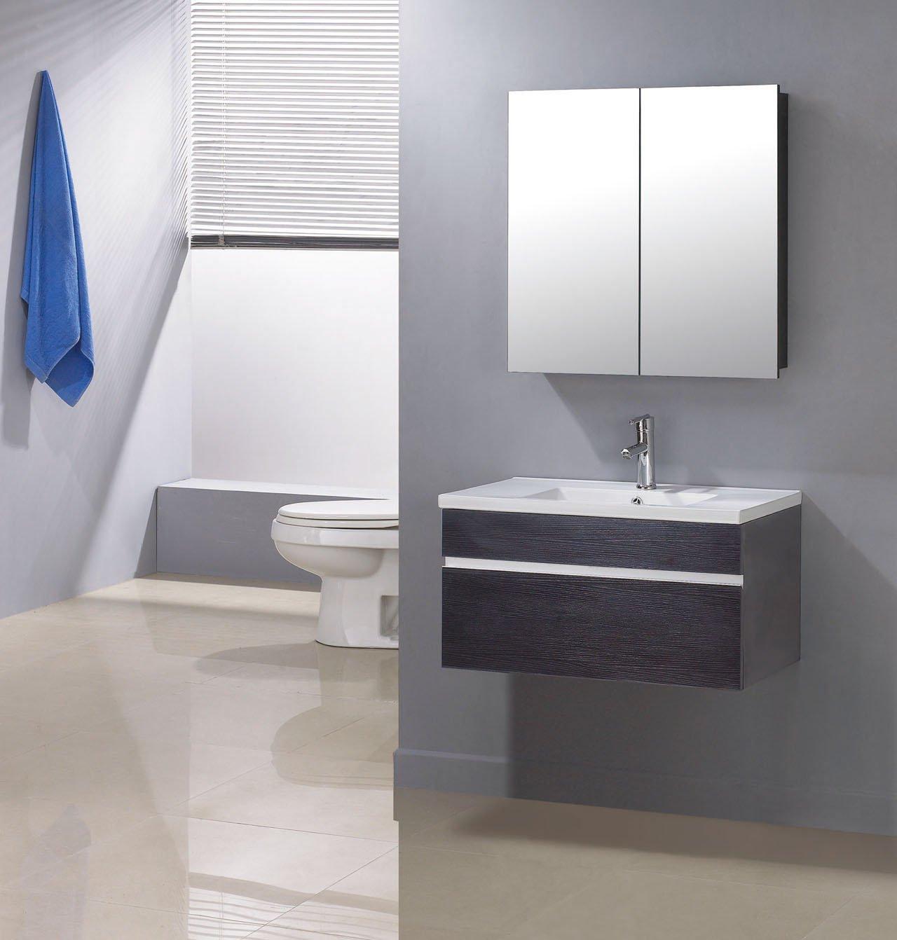 Buena fuente para barato, moderno cuarto de baño vanidad ()